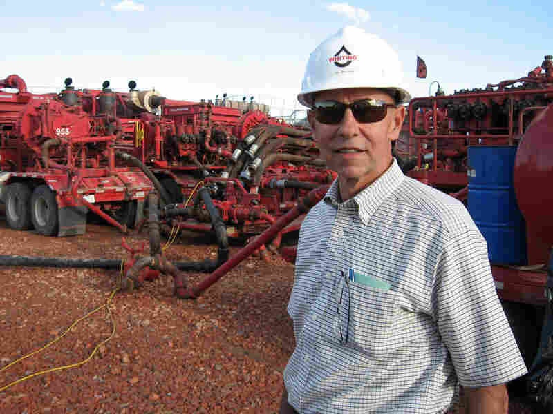 Jim Brown is the senior vice president for Whiting Petroleum, based in Denver.