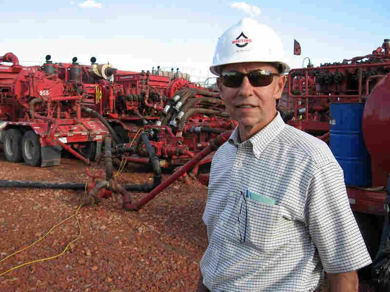 Jim Brown is the senior vice president for Whiting Petroleum, based in Denver.