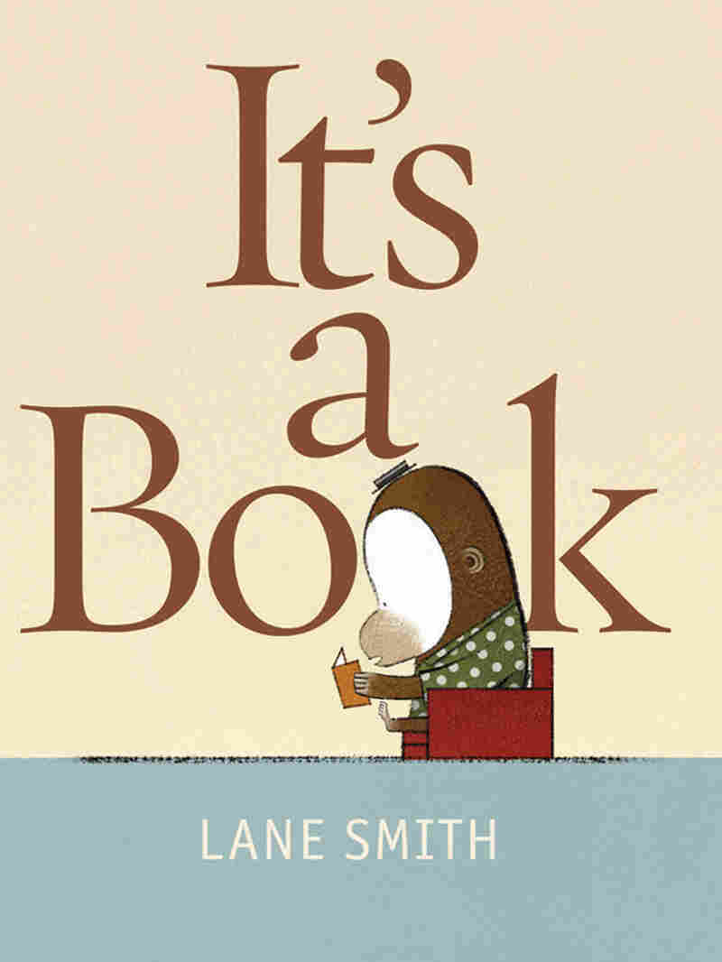 Illustrator Lane Smith's new work, It's a Book