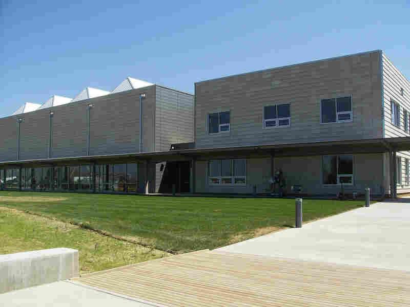 The new Kiowa County school facility in Greensburg, Kan.