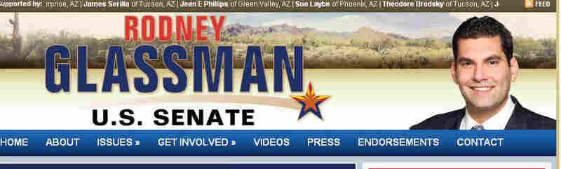 Rodney Glassman is a Democratic candidate for Senate in Arizona.