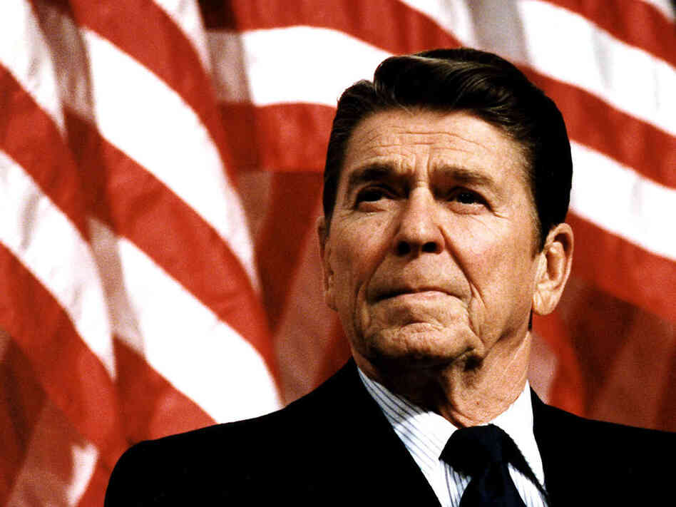 President Reagan, in February 1982.