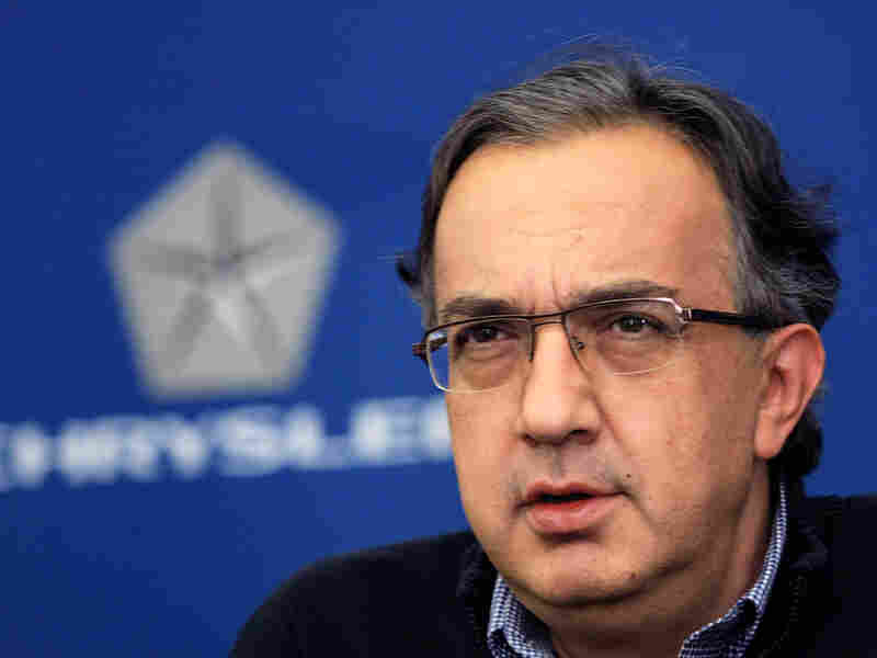 Chrysler CEO Sergio Marchionne.