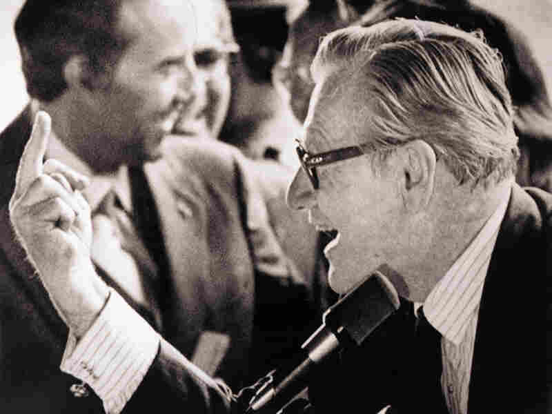 Vice President Rockefeller and his famous 1976 salute to hippies in Binghamton, N.Y.
