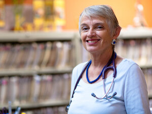 Dr. Cathy Crute says she brings a personal touch to primary care.