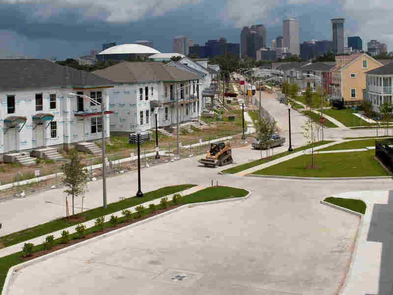 Harmony Oaks, on the site of the former C.J. Peete project in New Orleans, is under construction.
