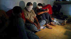 A group of people kidnapped by alleged drug traffickers