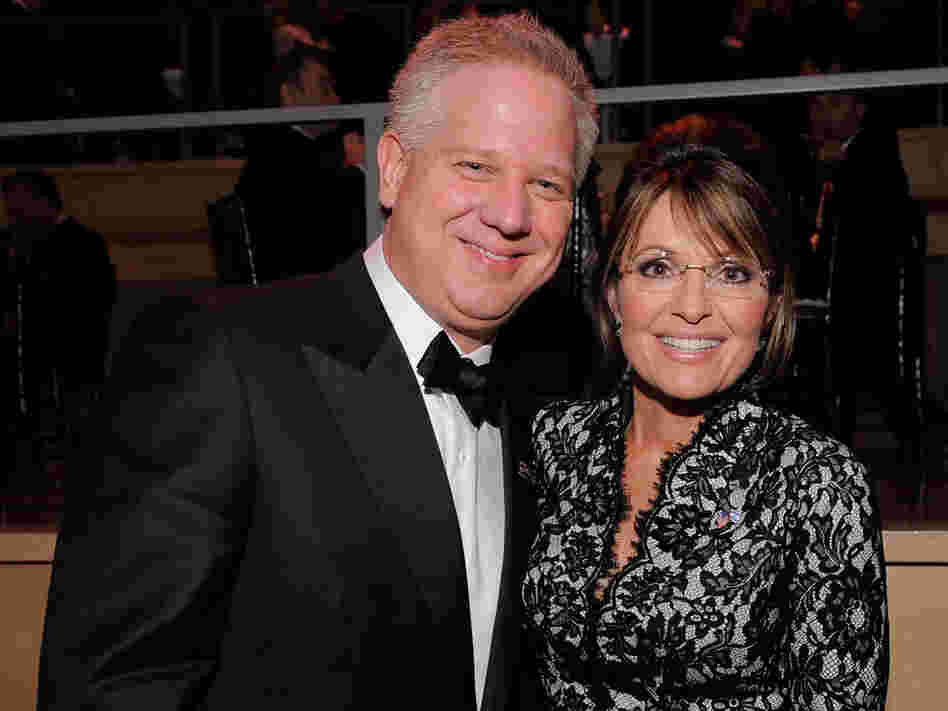 Glenn Beck and Sarah Palin attend Time magazine's 100 most infuential people gala; May 4, 2010.