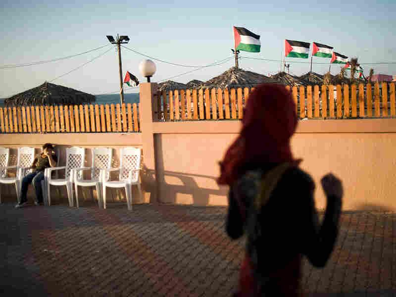 A Hamas-run beach club in Gaza City
