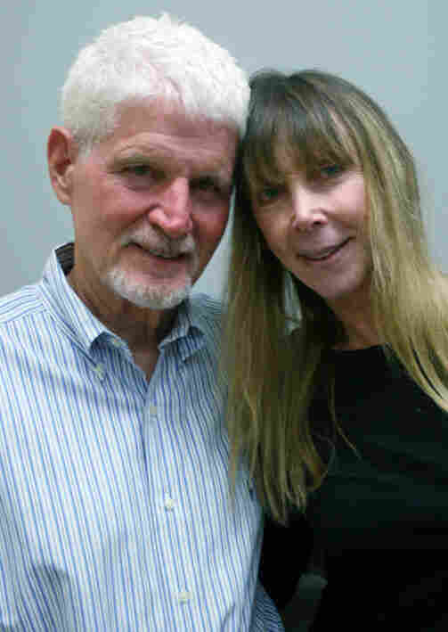 Bob Patterson and his wife, Karen, spoke about his memory loss in Los Angeles.