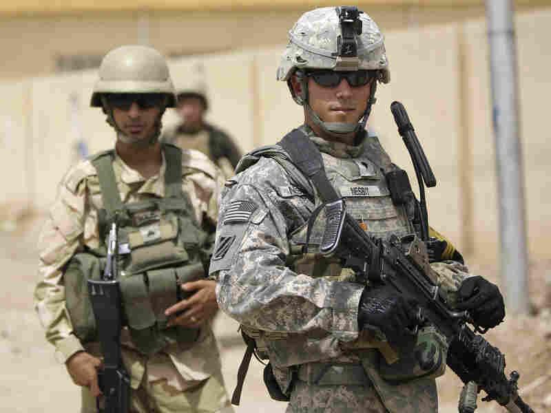 U.S. soliders on patrol in northern Iraq