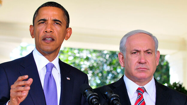 President Obama with Prime Minister Netanyahu