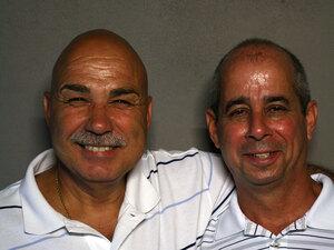 Angelo Bruno and Eddie Nieves