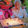 Campers celebrate their birthdays.
