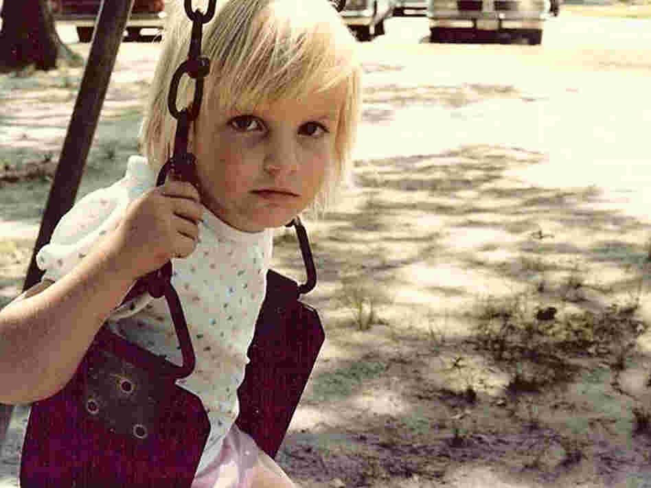 Miles Taylor as a little girl