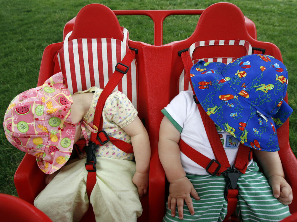 Making up sleep during the day didn't reduce the risk that kids in the study would gain weight.