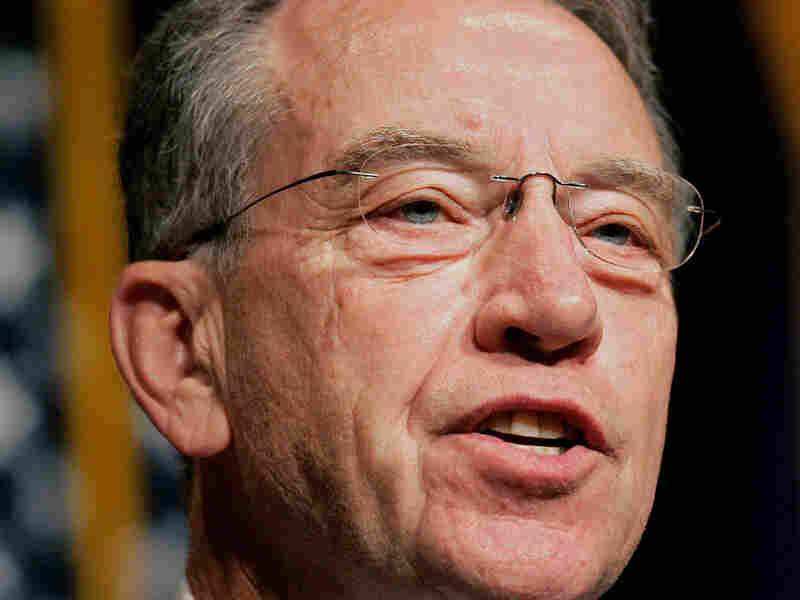 Sen. Chuck Grassley of Iowa, the Senate Finance Committee's top Republican.