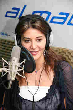 Honey al-Sayed, the queen of morning drive time radio in Damascus
