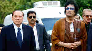 Gadhafi's Visit Raises Ire Over Libya's Role In Italy