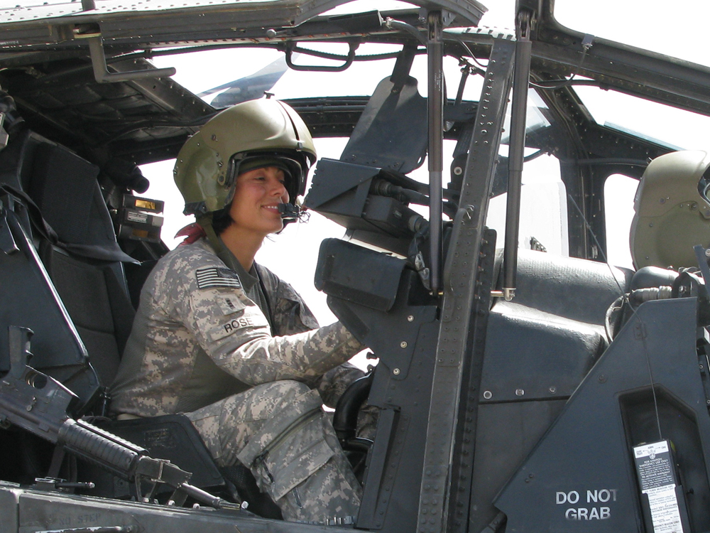 Female Pilot Reflects On War And Evolving Army | NCPR News