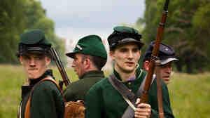 Civil War reenactors in the U.K.