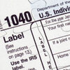 A 1040 income tax return puzzle.