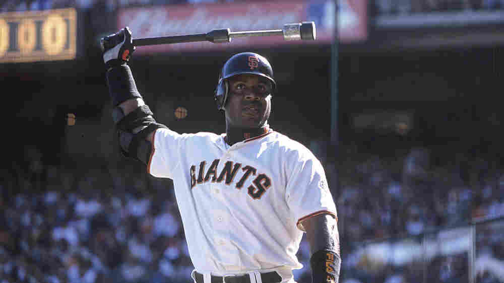 Barry Bonds in a 2001 game