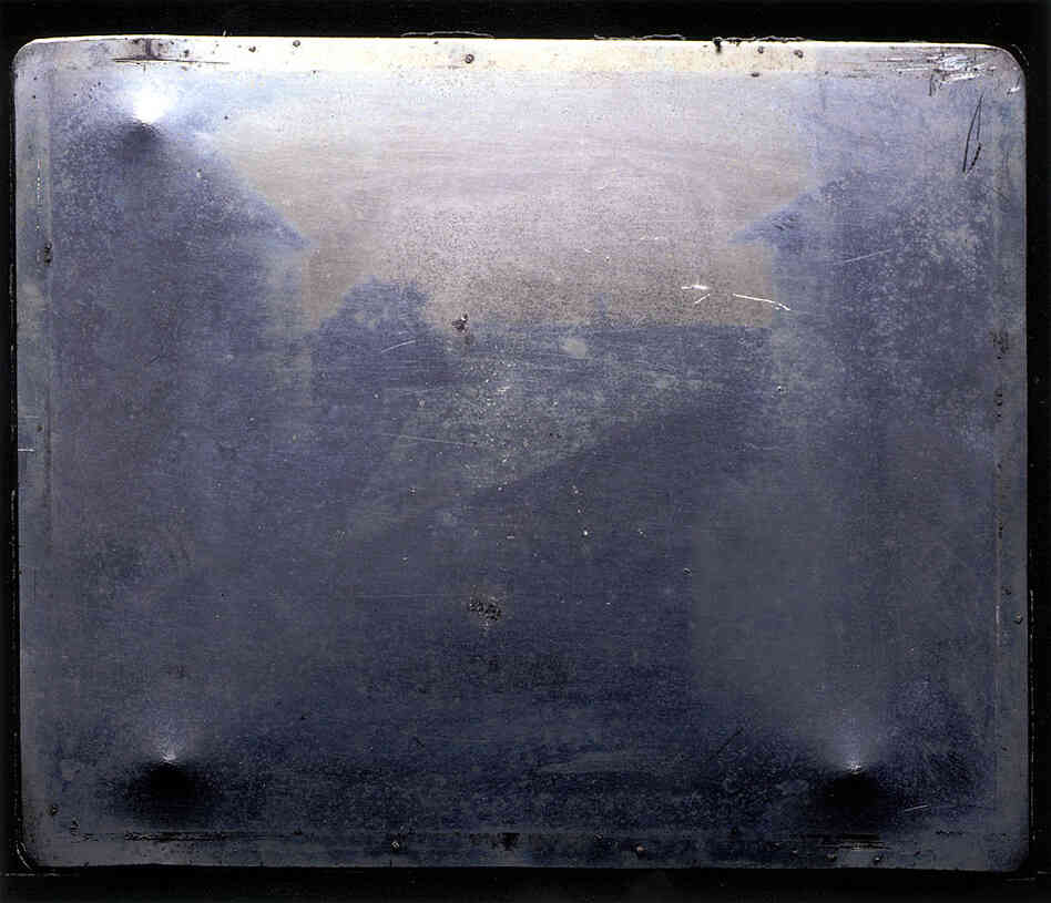 "Official image of the ""first photograph"""