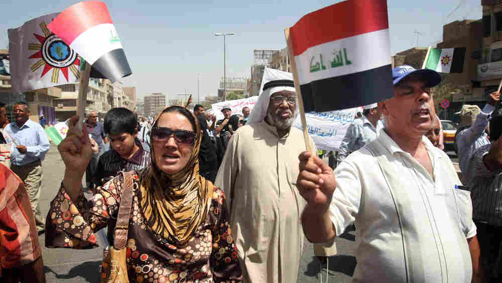 Iraqis call for the formation of a government, four months after national elections