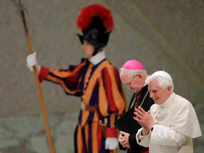 Pope Benedict XVI at the Vatican, Sept. 15.