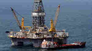 The rig that drilled the main relief well at the site of the Deepwater Horizon oil wellhead