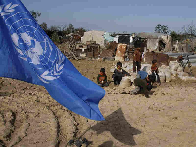 UN Camp Gaza