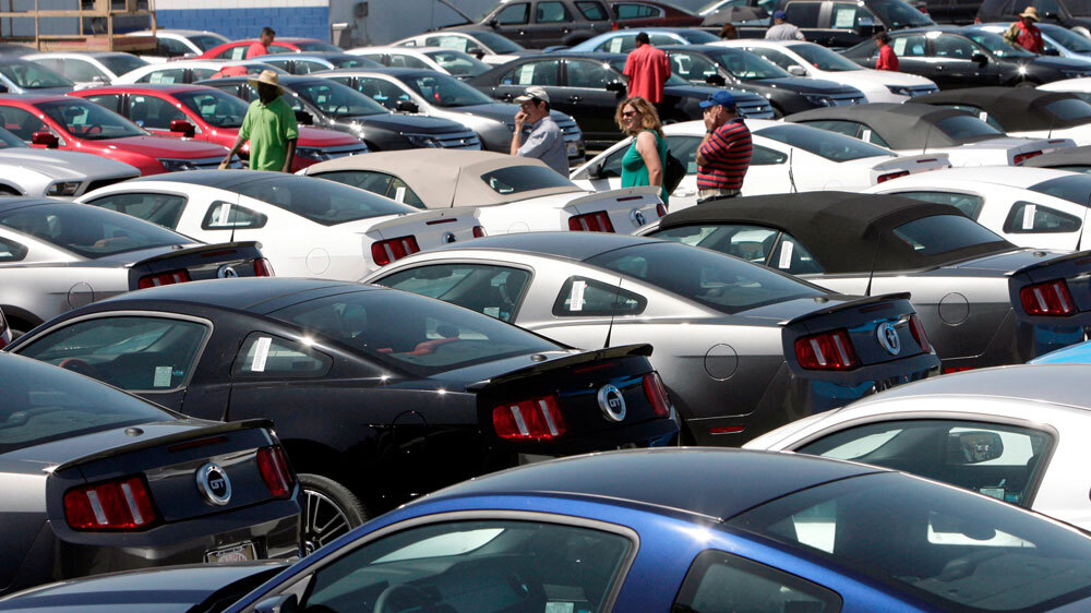 Cars For Sale Los Angeles >> What S The Most Stolen Vehicle It May Surprise You Npr