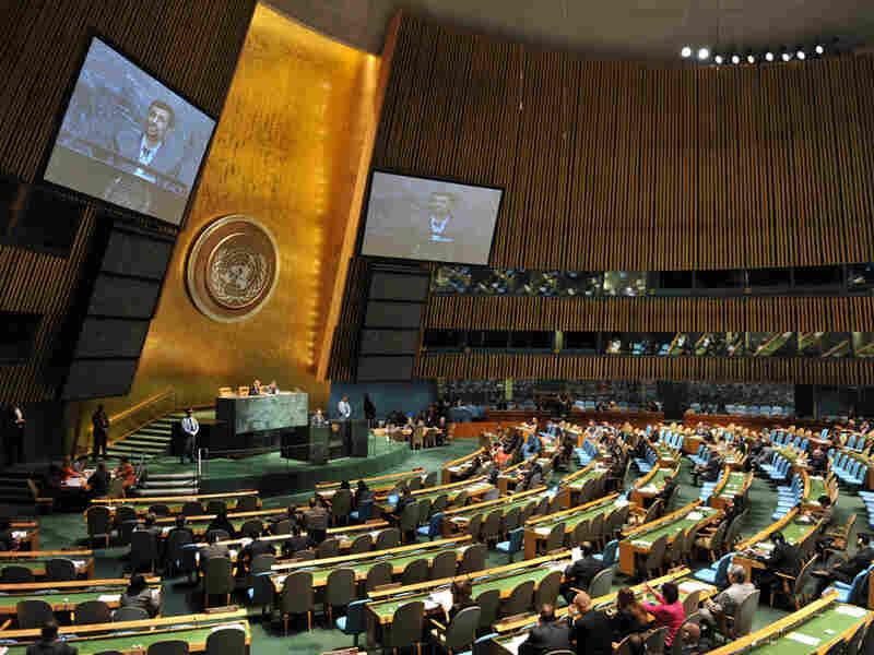 Iranian President Ahmadinejad at the U.N.