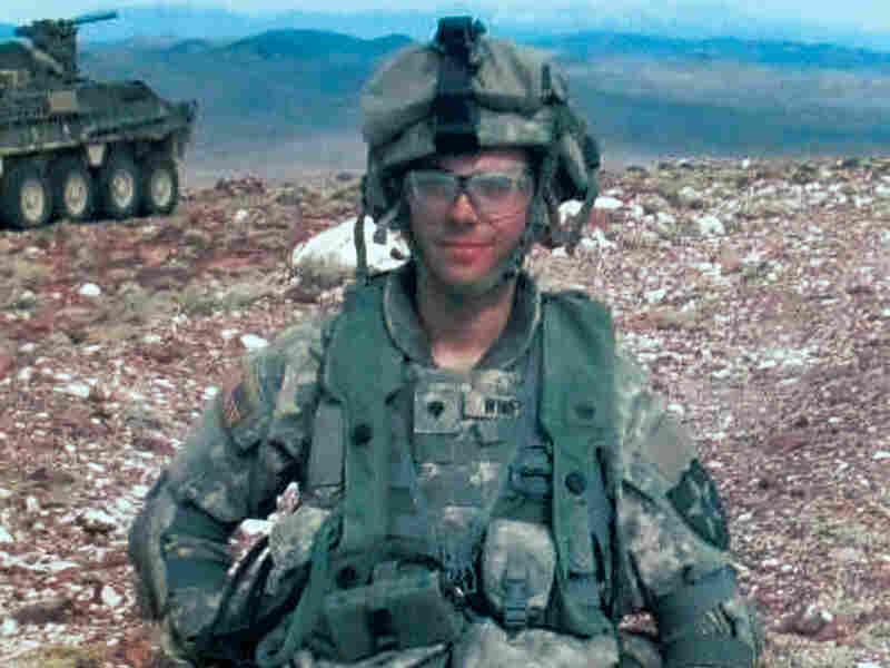 U.S. Army Spc. Adam Winfield on duty in Afghanistan.