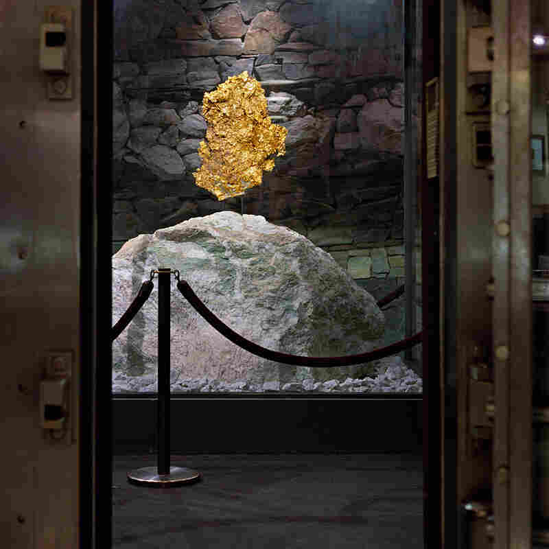 The largest Crystalline Gold Leaf specimen in the world