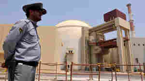 The Russian-built Bushehr nuclear power plant in Iran.