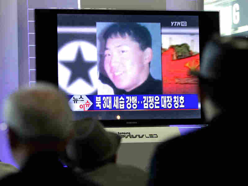 South Korean news shows image of Kim Jong Un, youngest son of North Korea's current leader