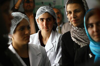 Midwife students study in Badakhshan