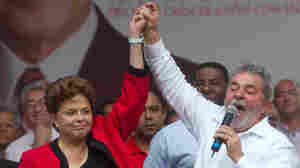 In Brazil, Lula Stumps For His Hand-Picked Successor
