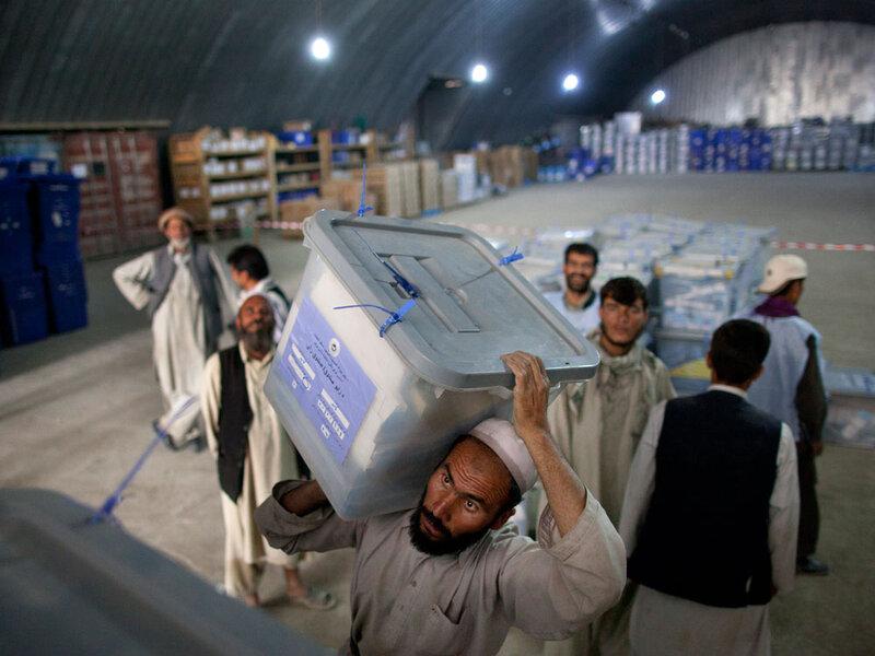 Fraud Alleged In Afghan Parliamentary Election : NPR