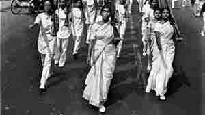 Students march in protest in what was East Pakistan, 1970