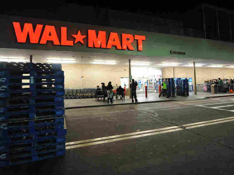 A Walmart store in Los Angeles