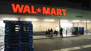A Walmart store in Los Angeles