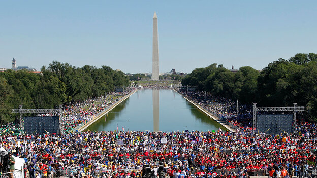 """Activists participate in """"One Nation Working Together"""" Rally"""