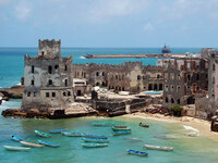 Mogadishu was once  known as the Pearl of the Indian Ocean. In the 1960s and '70s, it was a haven for tourists.
