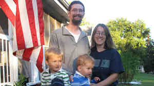 Darryl and Kristina Pendergrass, and their sons, William, 3, and Ian, 20 months.