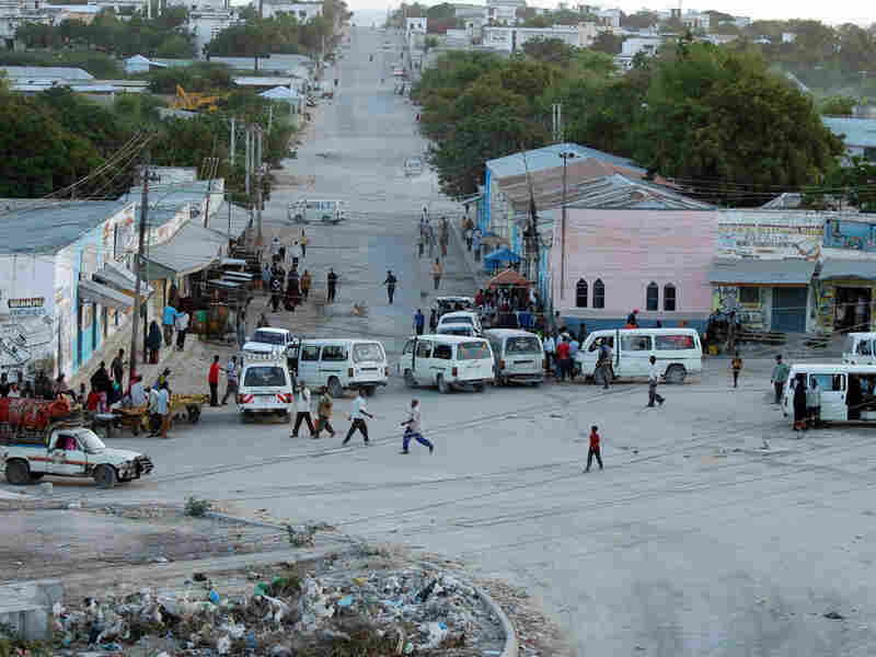 The streets of Mogadishu