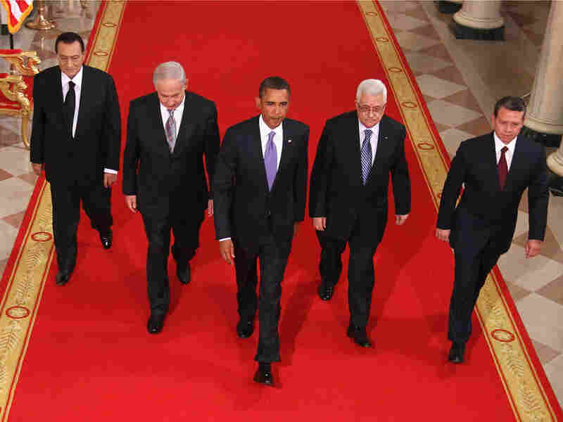 President Obama with Middle East leaders