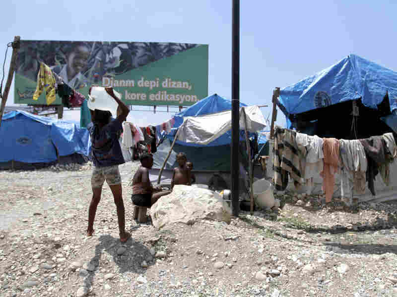 Reconstruction comes slowly to Port-au-Prince